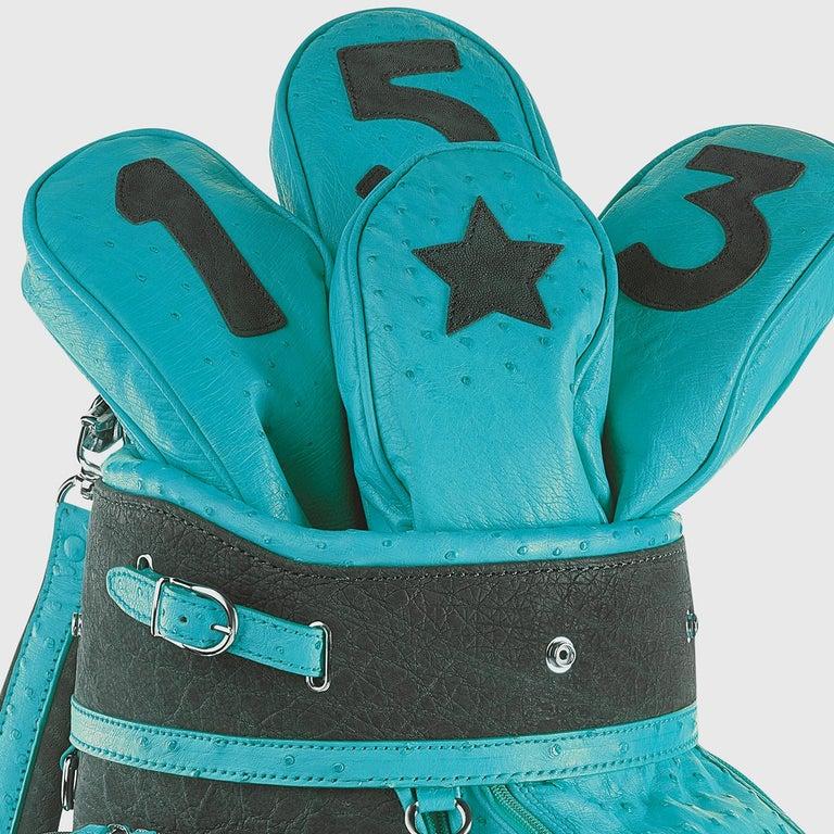 Modern Royal Light Blue Golf Bag by Barchi For Sale