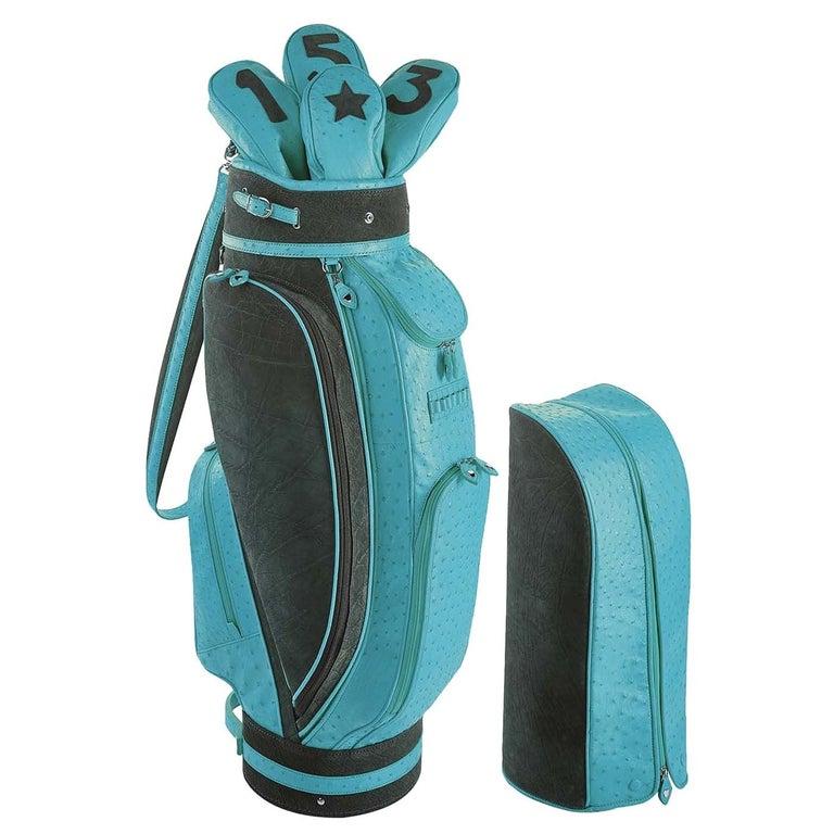 Royal Light Blue Golf Bag by Barchi For Sale