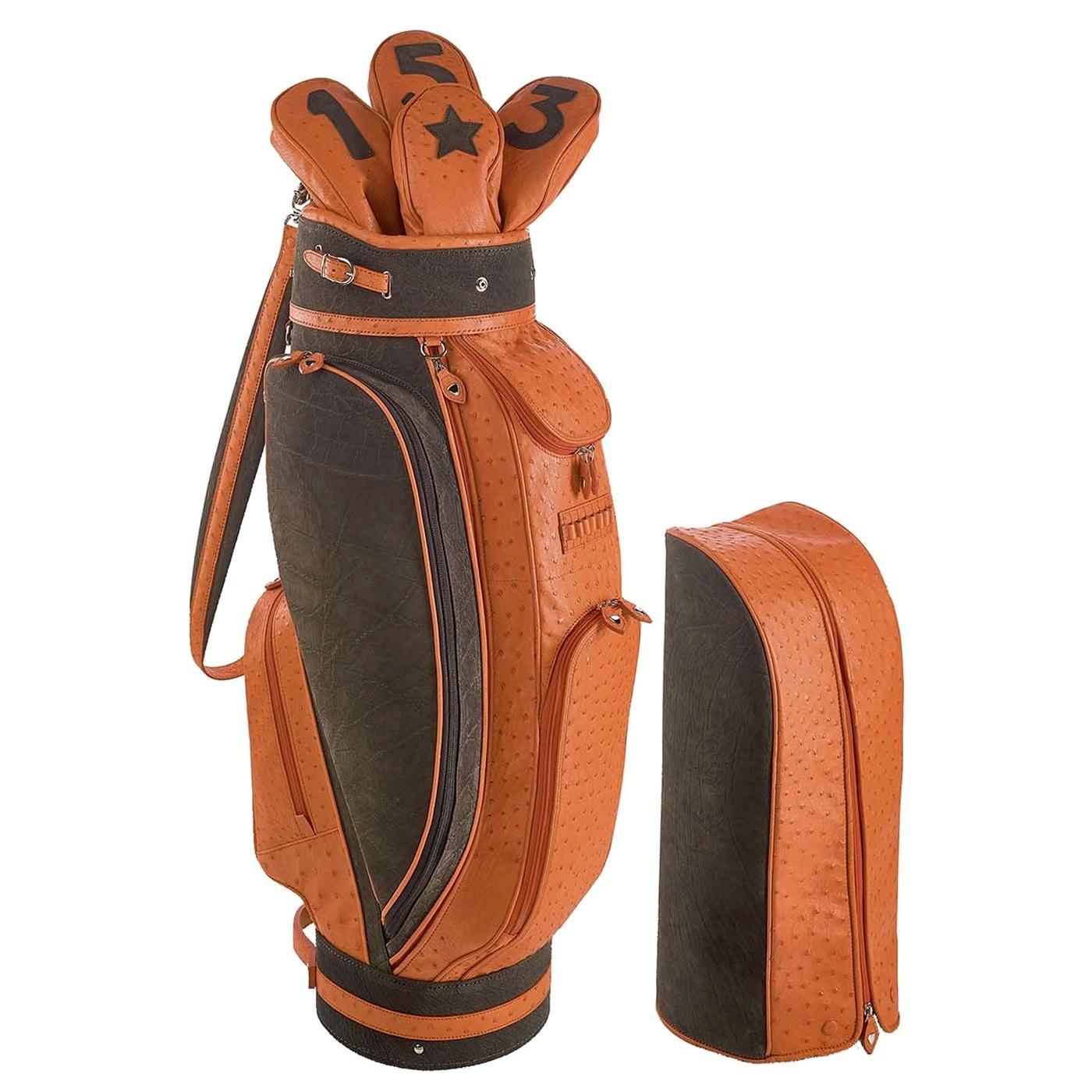 Royal Orange Golf Bag by Barchi
