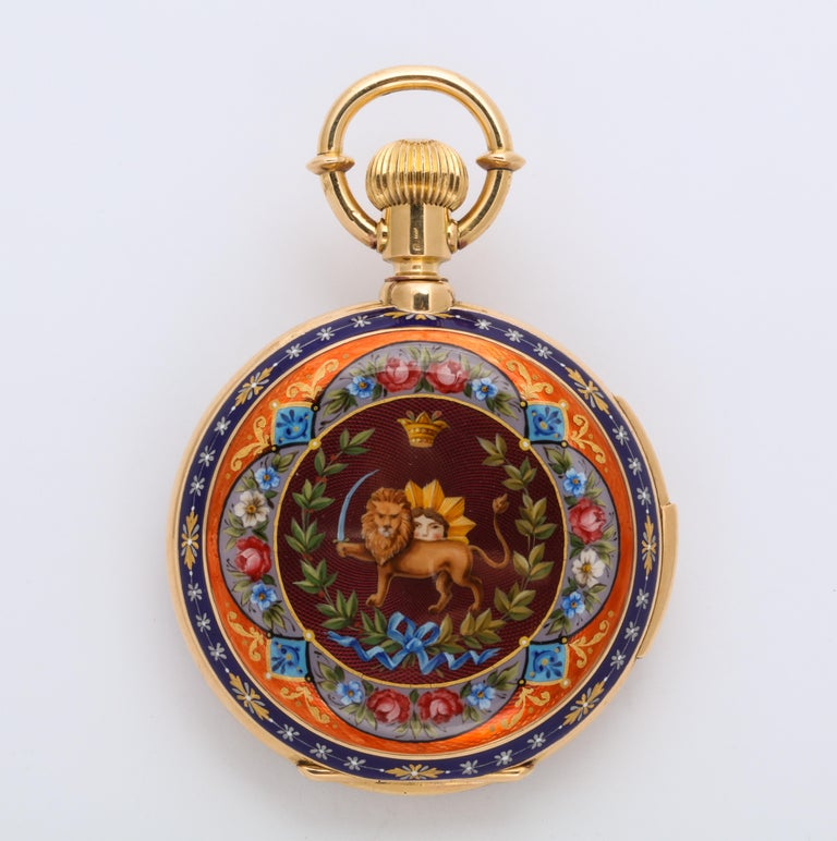 Royal Pocket Watch for Iranian Royalty For Sale 1