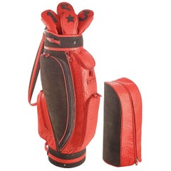 Royal Red Golf Bag by Barchi