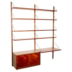 'Royal System' 2-Bay Wall Unit by Poul Cadovius for Cado