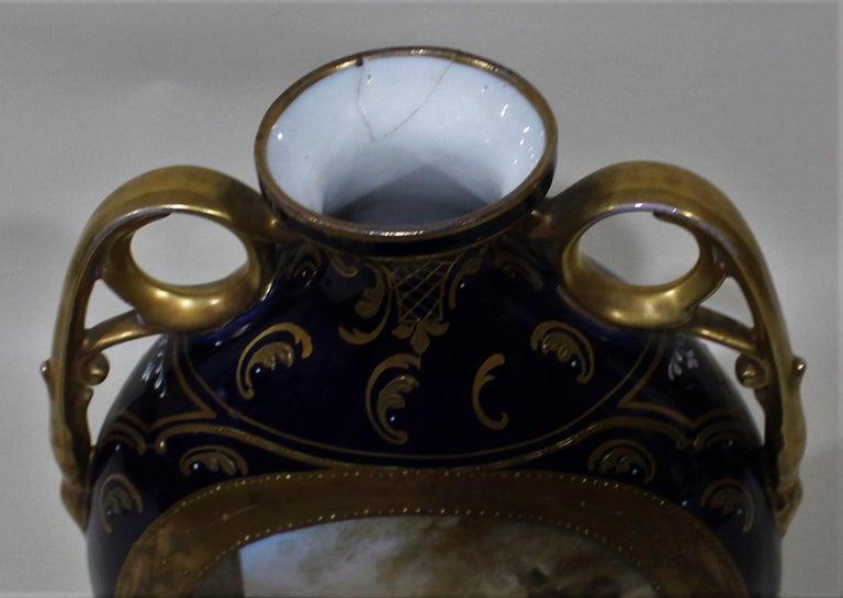 Royal Vienna Lidded Vase or Urn For Sale 3