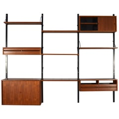 Royal Wall Unit in Teak by Poul Cadovius, Denmark, circa 1960