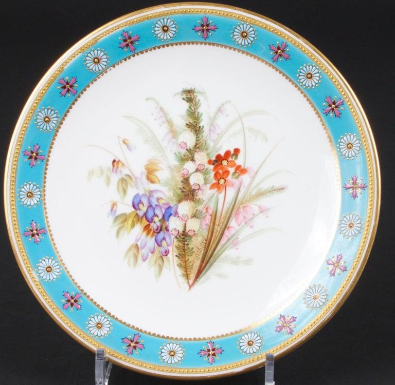Royal Worcester Botanical Set For Sale 4