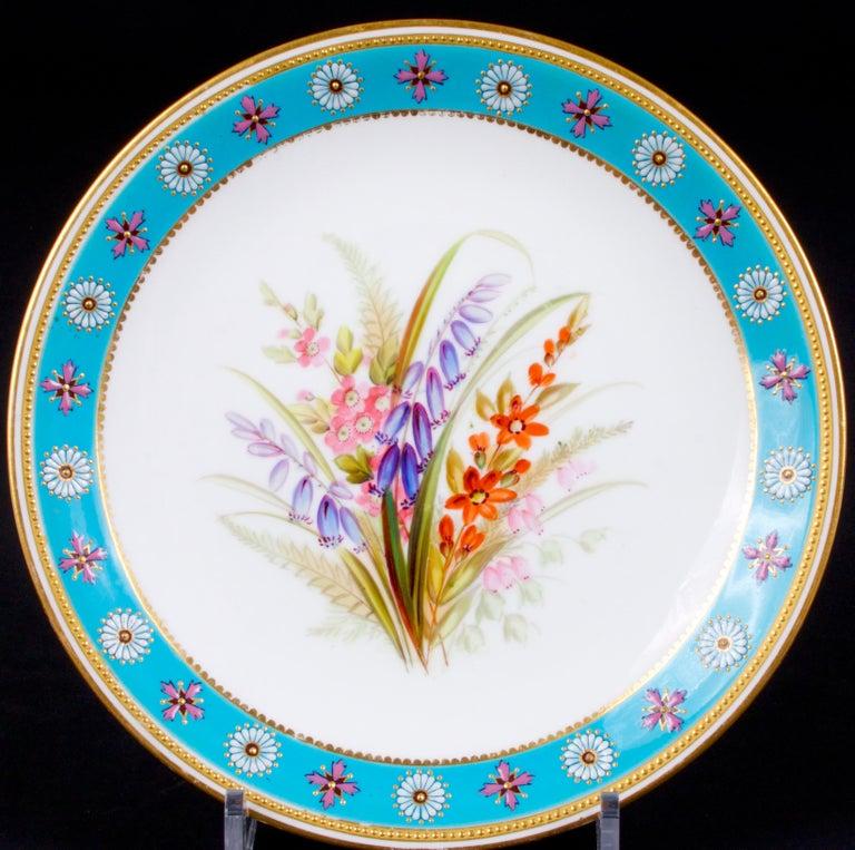 Royal Worcester Botanical Set For Sale 5
