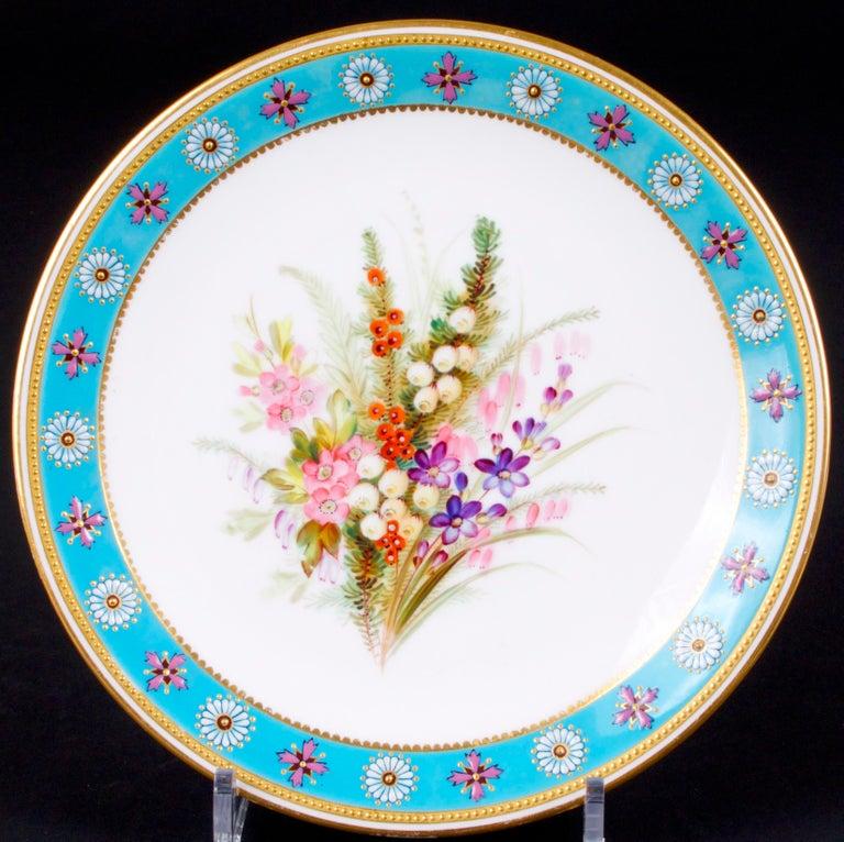 Royal Worcester Botanical Set For Sale 6