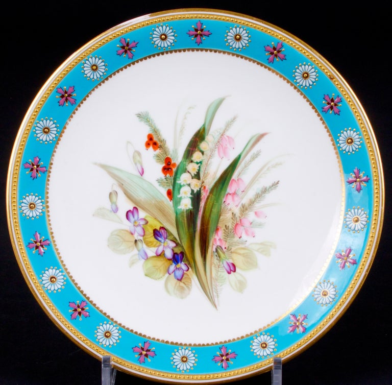 Royal Worcester Botanical Set For Sale 7