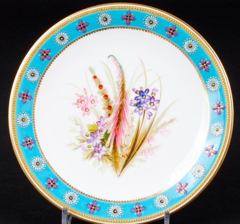 Royal Worcester Botanical Set For Sale 8