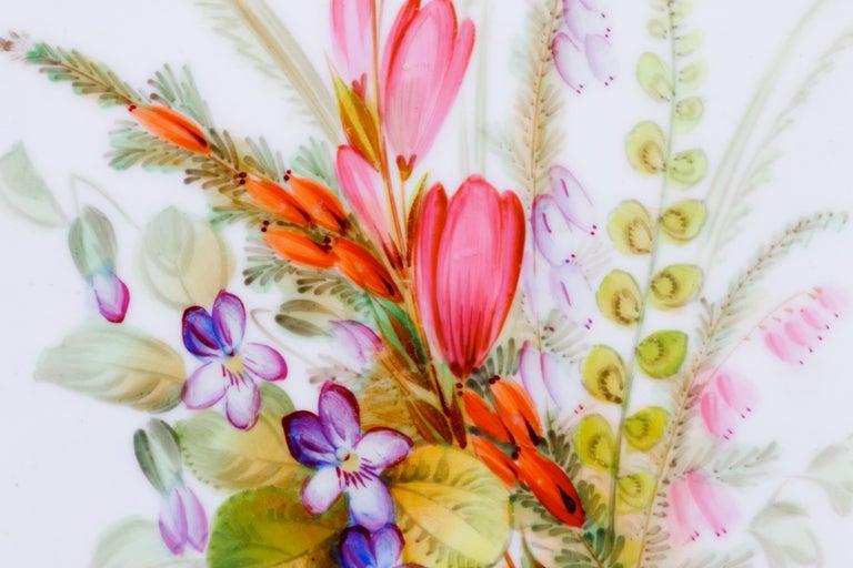 English Royal Worcester Botanical Set For Sale