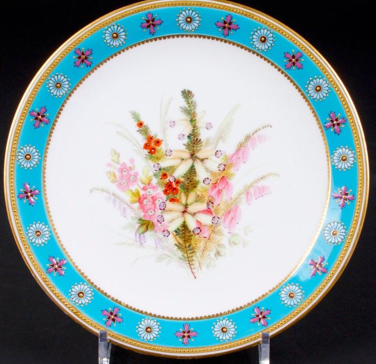 20th Century Royal Worcester Botanical Set For Sale