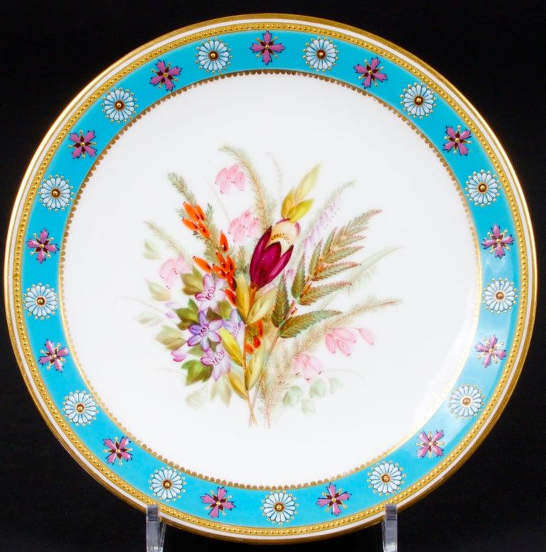 Royal Worcester Botanical Set For Sale 2