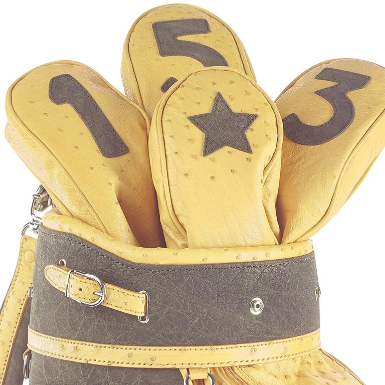 Modern Royal Yellow Golf Bag by Barchi For Sale