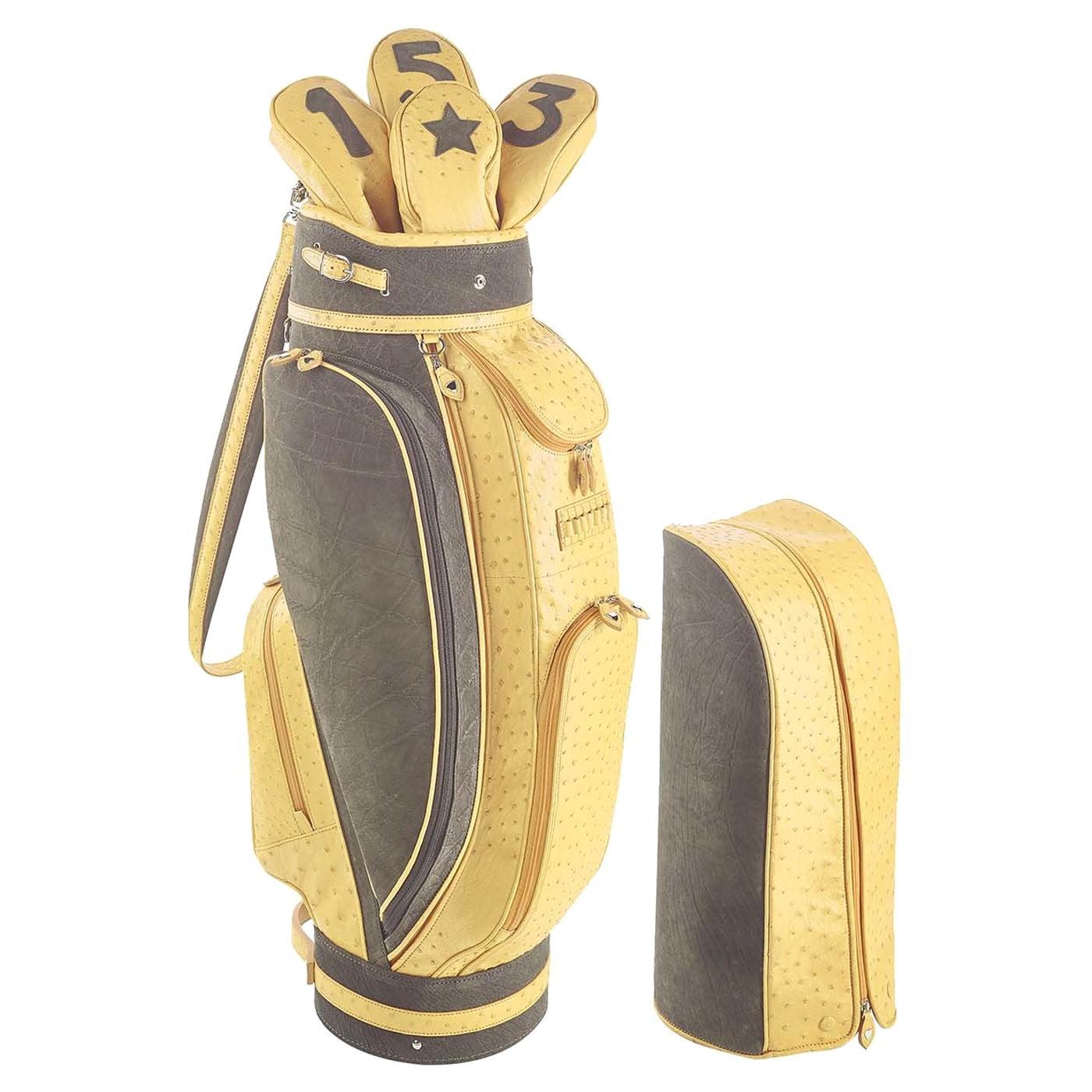 Royal Yellow Golf Bag by Barchi