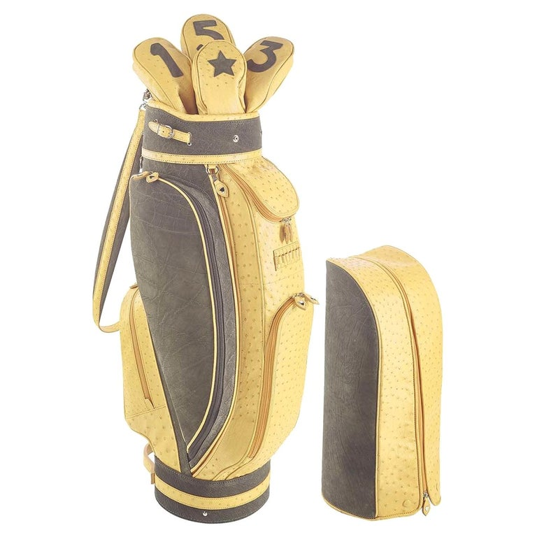 Royal Yellow Golf Bag by Barchi For Sale