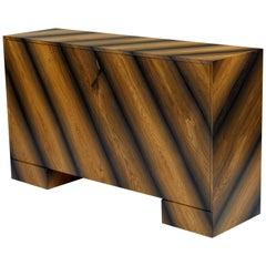 Console in 1,200 Year-Old Bog Oak Wood