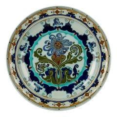 Rozenburg Den Haag Art Nouveau Art Pottery Dish, 1899-1914