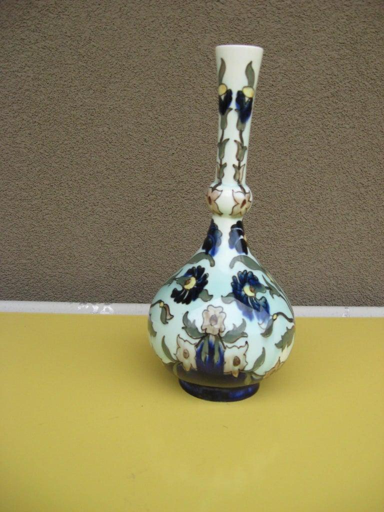 Rozenburg DenHaag Art Nouveau Vase, Late 19th Century For Sale 1