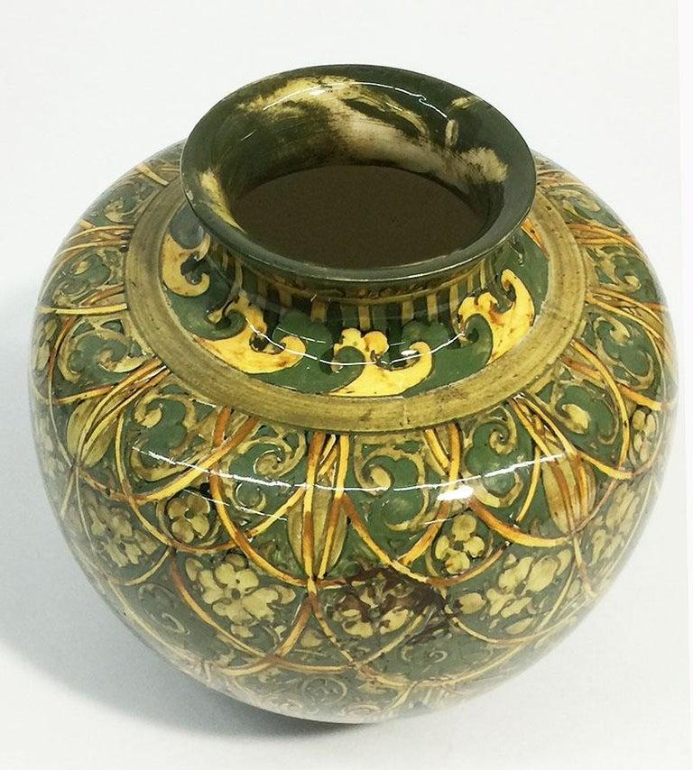 Rozenburg Earthenware vase, The Hague, The Netherlands, 1894 For Sale 2
