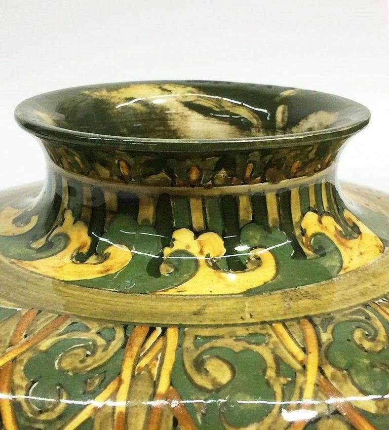 Rozenburg Earthenware vase, The Hague, The Netherlands, 1894 For Sale 3
