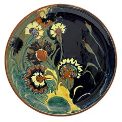 Rozenburg Earthenware Wall Plate, The Hague, the Netherlands, 1893