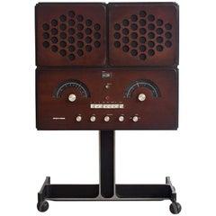 Rr126 Stereo System Designed by Achille Castiglioni, Made by Brionvega, 1965