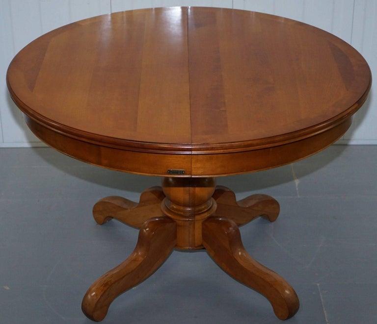 Grange Handmade France Cherrywood Extending Dining Table