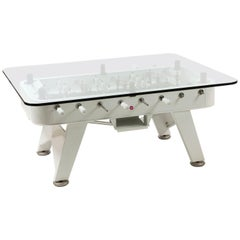 RS-Barcelona Low Rectangular RS Dining Table in White by José Andrés