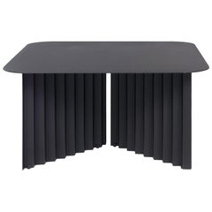 RS-Barcelona Medium Plec Table in Black Metal by A.P.O.