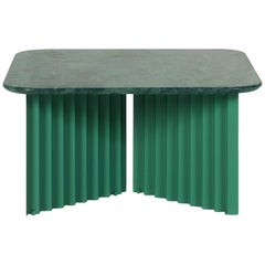 RS-Barcelona Medium Plec Table in Green Marble by A.P.O.