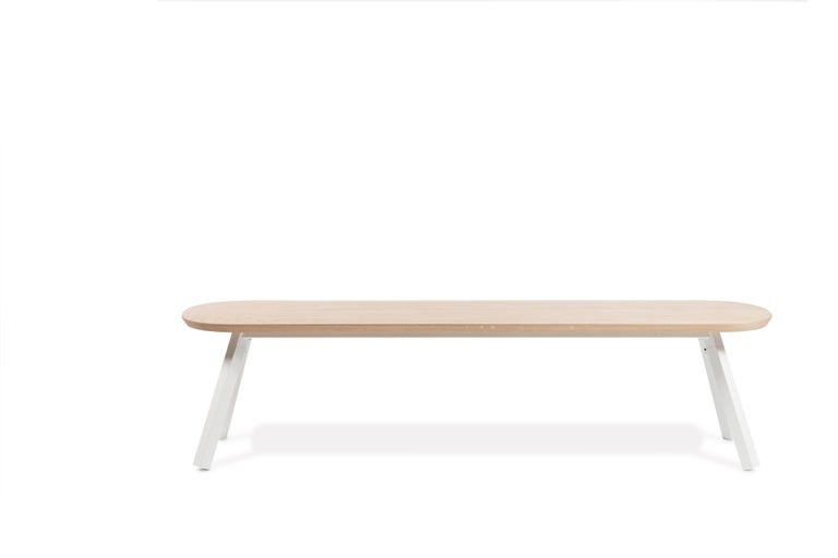 The You and Me benches are the perfect companions for the You and Me ping pong tables, created in order for you to get the very most out of your table after you've finished your ping-pong game. With this goal in mind, Antoni Pallejà Office designed