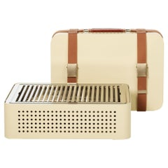 RS-Barcelona Mon Set of Four Oncle Barbecue in Cream by Mermelada Estudio