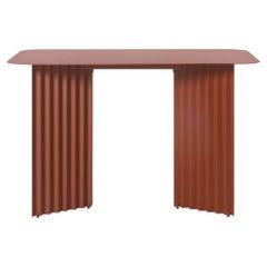 RS Barcelona Plec Steel Desk, terracotta