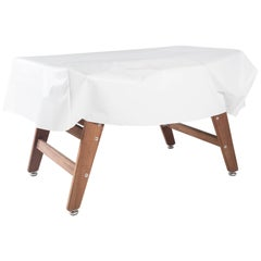 RS Barcelona RS Table Cover in White by Rafael Rodriguez