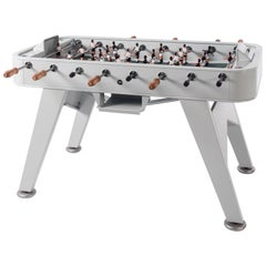 RS Barcelona RS2 Football Table in Silver Iron by Rafael Rodriguez