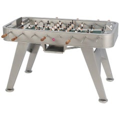 RS-Barcelona RS2 Football Table in Stainless Steel by Rafael Rodríguez