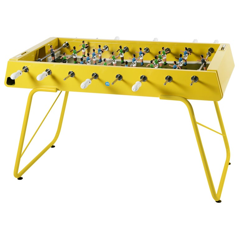 RS-Barcelona RS3 Football Table in Yellow by Rafael Rodríguez For Sale