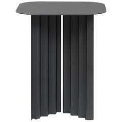 RS-Barcelona Small Plec Table in Black Metal by A.P.O.