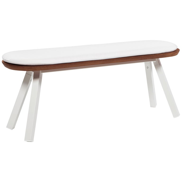 RS-Barcelona Small You And Me Bench With White Cushion By