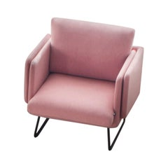 RS-Barcelona Spongy Armchair in Coral by Stone Designs