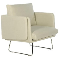 RS-Barcelona Spongy Armchair in White by Stone Designs