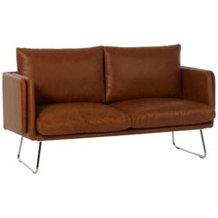 RS-Barcelona Spongy Sofa in Brown Leather by Stone Designs