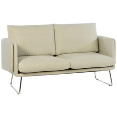 RS-Barcelona Spongy Sofa in White Fabric by Stone Designs
