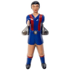 RS-Barcelona Wall Champions Coat Hook Blue and Red by Rafael Rodríguez set of 4