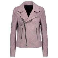 RtA Nico Suede Moto Jacket