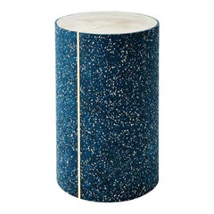 Rubber Cylinder in Royal Side Table