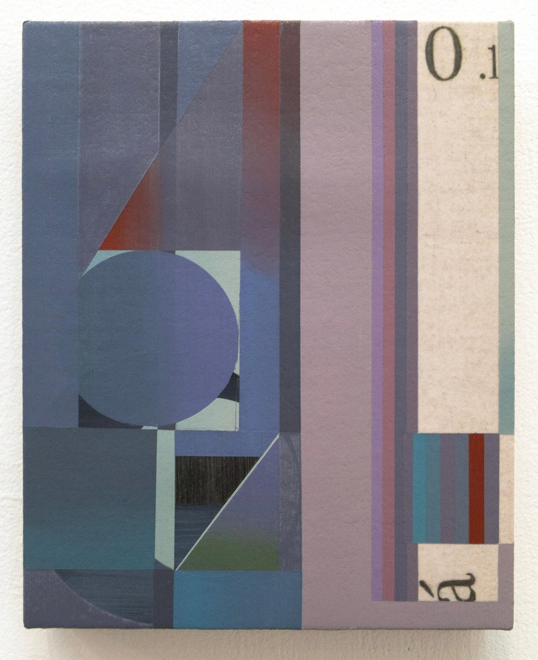 Rubens Ghenov Abstract Painting - Aft Key