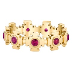 Ruby Eternity Gold Ring by ARK Fine Jewelry