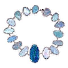 Ruchi New York Australian Opal and Diamond Bracelet