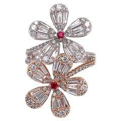 Ruchi New York Baguette Diamond Ring